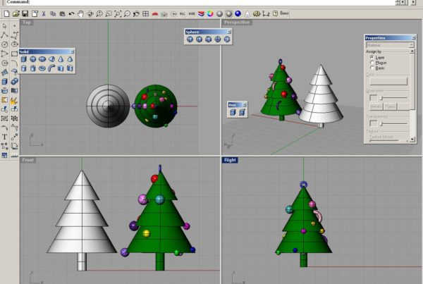 Christmas Tree CAD