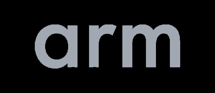 arm logo grey