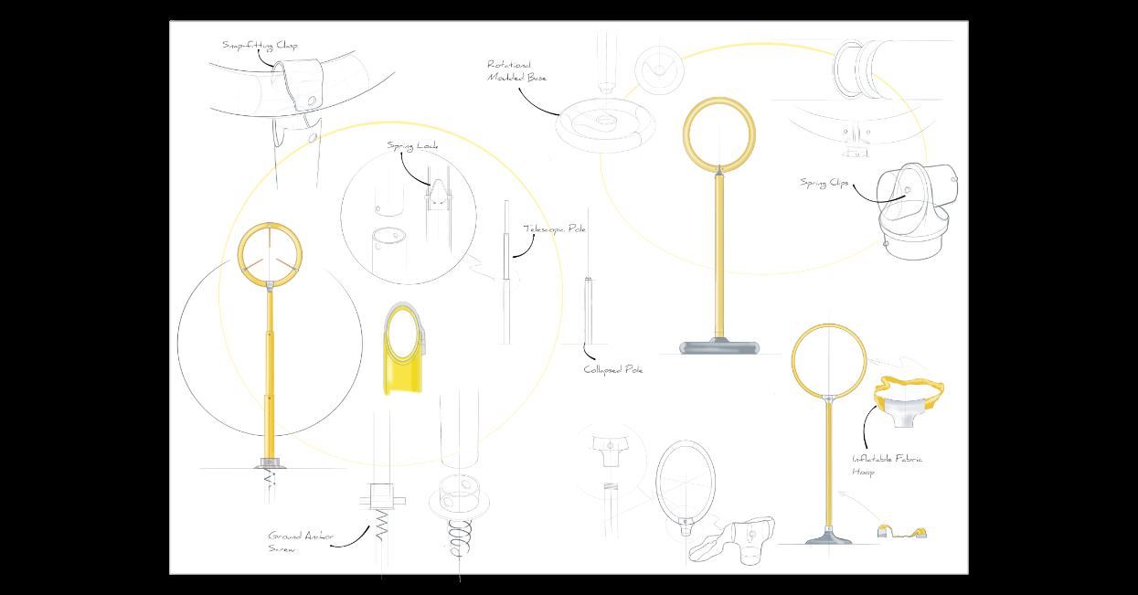 quidditch hoop sketches